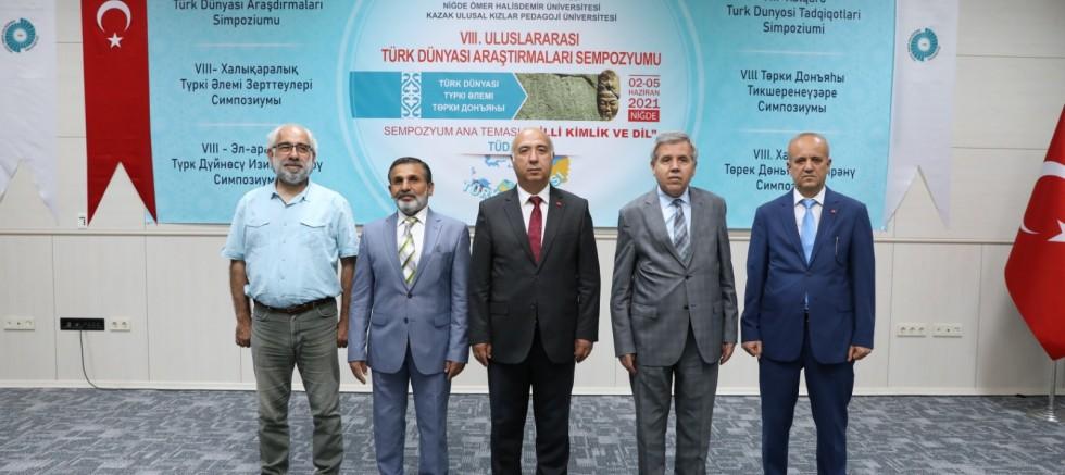 8. Uluslararası Türk Dünyası Araştırmaları Sempozyumu Başladı