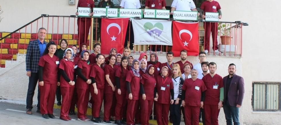Altunhisar Özel Güven Engelli Bakım Merkezinden Afrin'e Destek