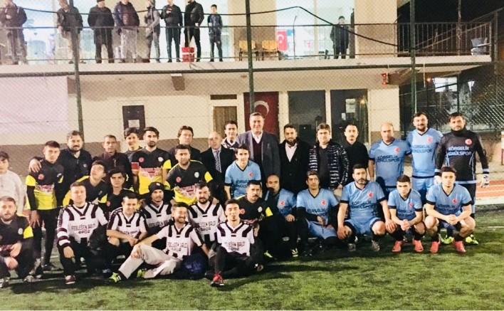 Ankara'da Niğde Fesleğenliler Futbol turnuvası başladı