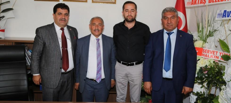 Başkan Özkan'dan MHP İl Başkanına Ziyaret