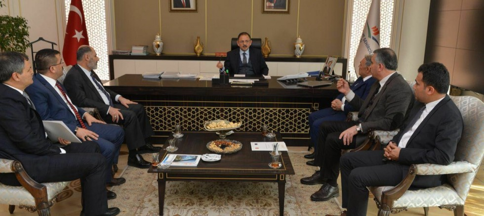 Belediye Başkanı Özkan'dan Ankara Temasları