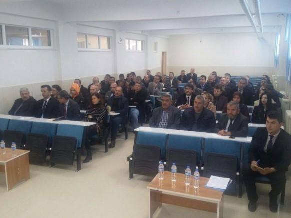 Bor ilçesinde Okul Güvenliği Toplantısı Yapıldı