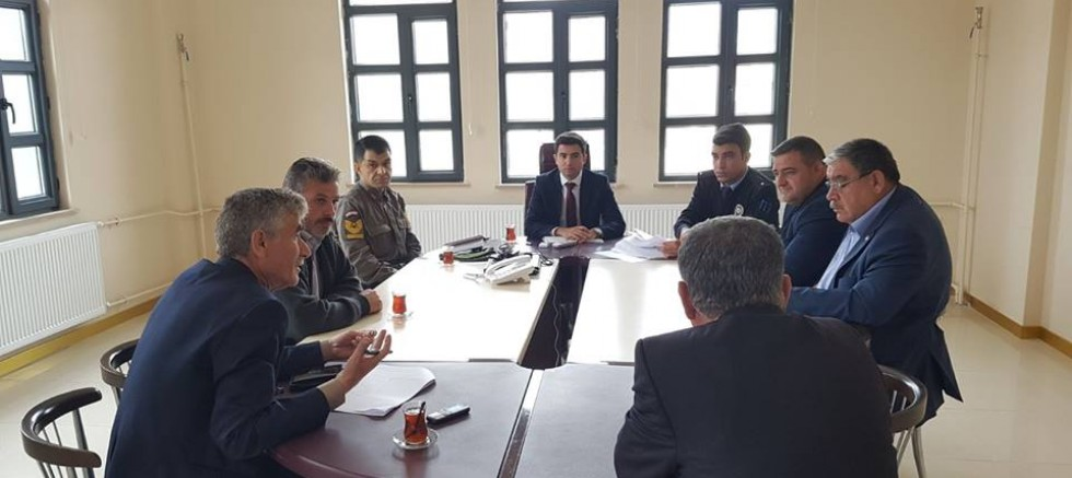 Çamardı İlçesinde Seçim Güvenliği Toplantısı Yapıldı