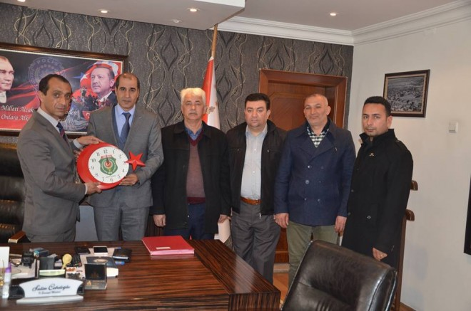 Gaziler Derneğinden Emniyete Ziyaret