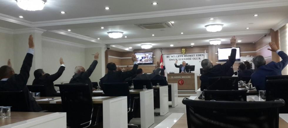 İl Genel Meclisi Komisyon Üyelerini Seçti