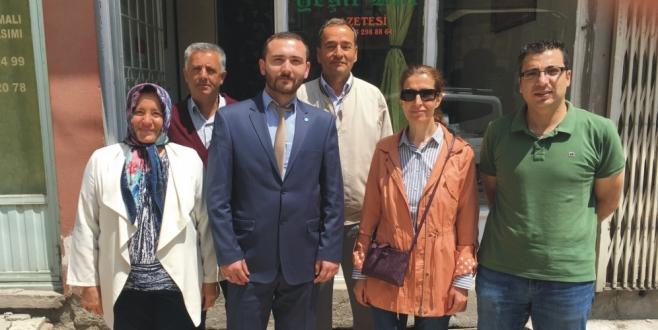 İYİ Parti Milletvekili Aday Adayı Rauf Ersin Daş'tan Gazetemize Ziyaret