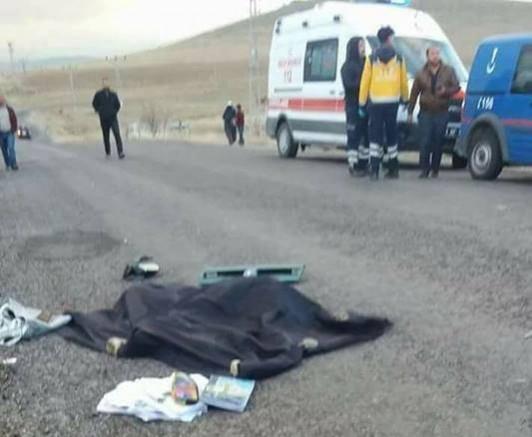 Kömürcü Köyünde Kaza 1 Ölü