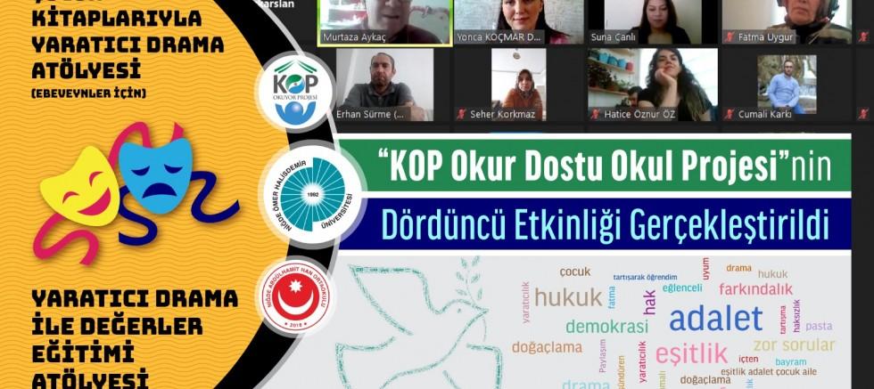 KOP Okur Dostu Okul Projesinin Dördüncüsü Gerçekleştirildi