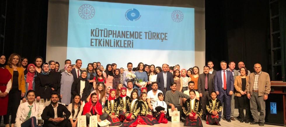 Kütüphanemde Türkçe Etkinliklerinin Kapanış Programı Gerçekleştirildi