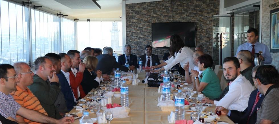 MHP İl Başkanı Yeni Yönetimi Basına Tanıttı