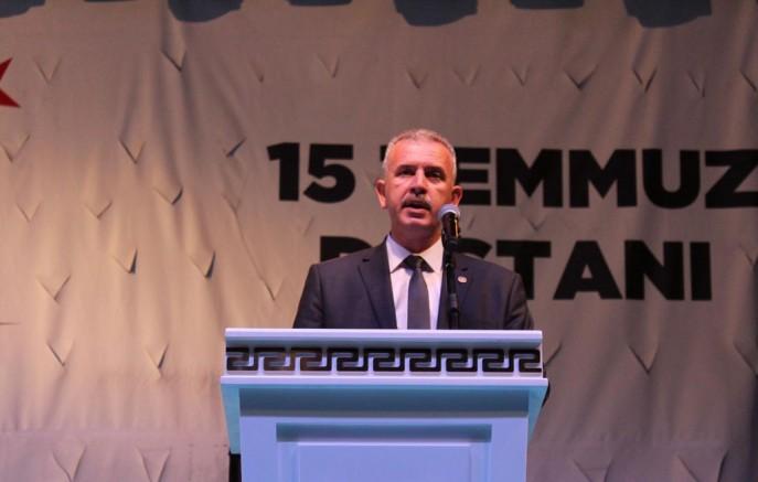 """MİLLETVEKİLİ ERGUN; """"15 TEMMUZ'U UNUTMAYACAĞIZ"""