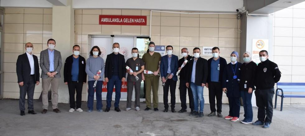 Milletvekili Gültekin'den, Pandeminin Kahramanlarına Ziyaret