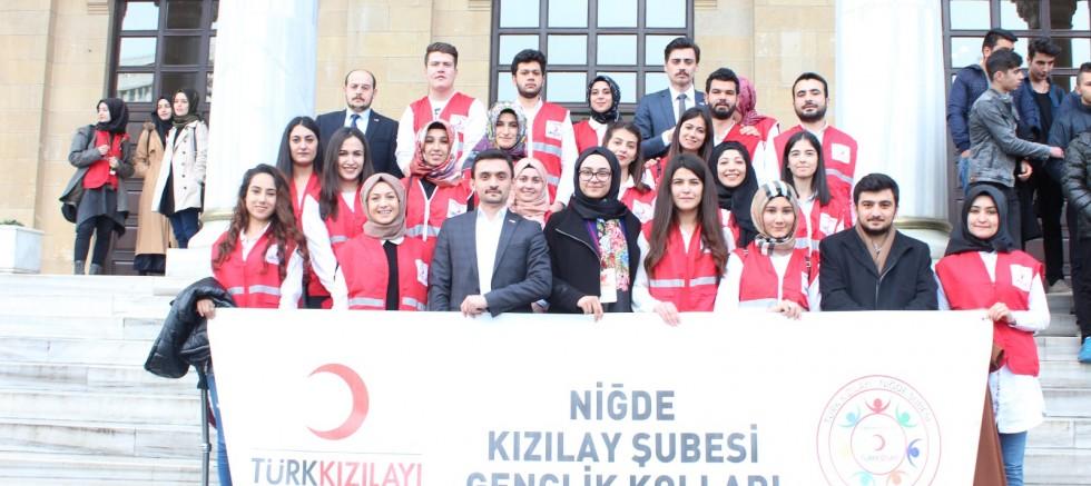 Niğde Kızılay 8 Mart Kadınlar Gününde Ankara'da