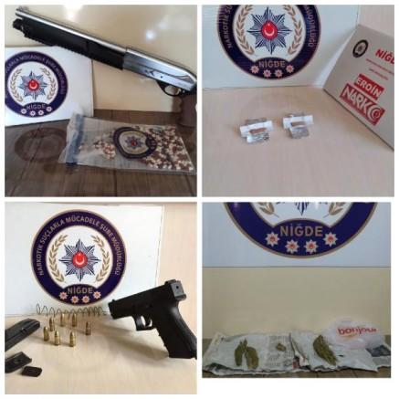 Niğde Merkezli 3 İlde Uyuşturucu Operasyonu: 17 Gözaltı