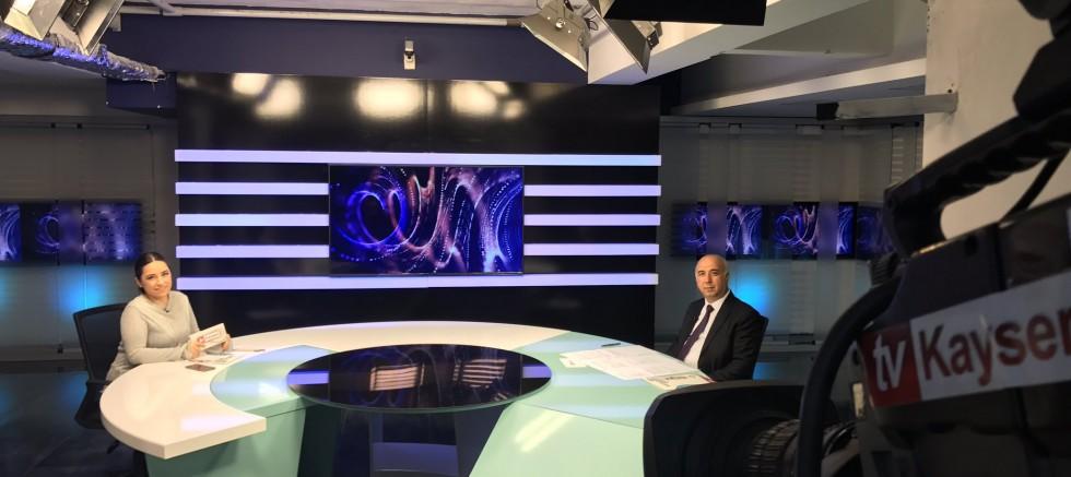 REKTÖR KAR TV KAYSERİ'YE KONUK OLDU