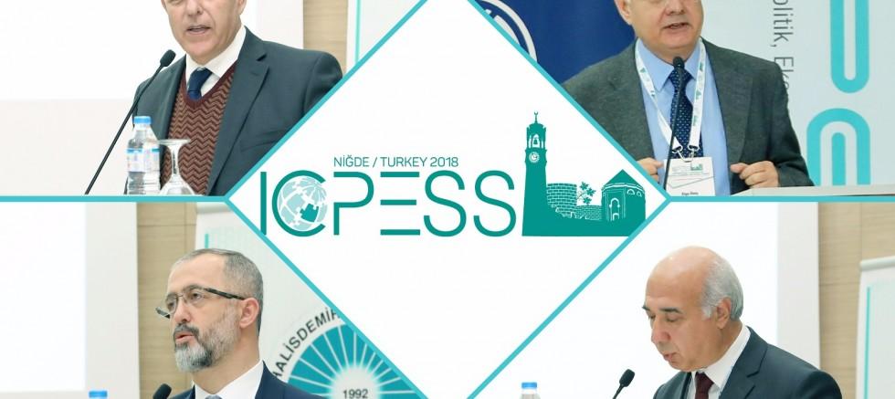 "Üniversitede ""5.ICPESS 2018"" Kongresi Düzenlendi"