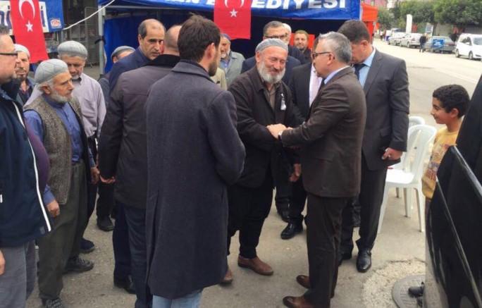 Vali Şimşek, Adana'da Şehit Ailesini Ziyaret Etti