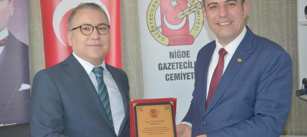 VALİ ŞİMŞEK'TEN NGC'YE ZİYARET
