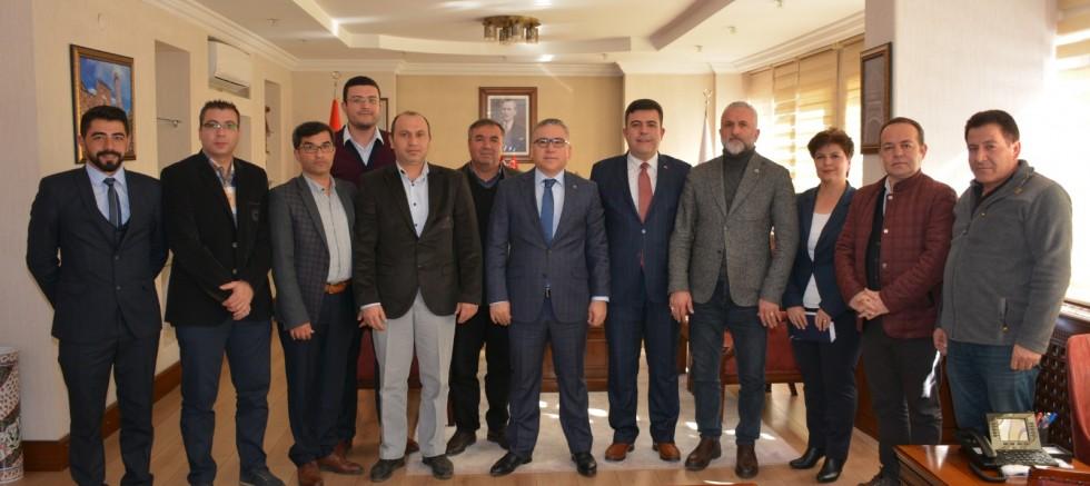 VALİ ŞİMŞEK'TEN YEREL BASINA DESTEK