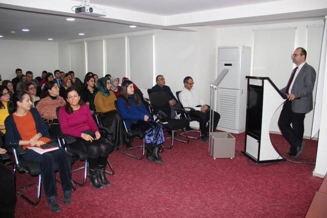 Verem Eğitim ve Propaganda Haftası Toplantısı Yapıldı